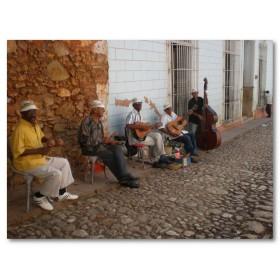 Αφίσα (μουσική, μαύρο, δρόμος, μουσικοί)